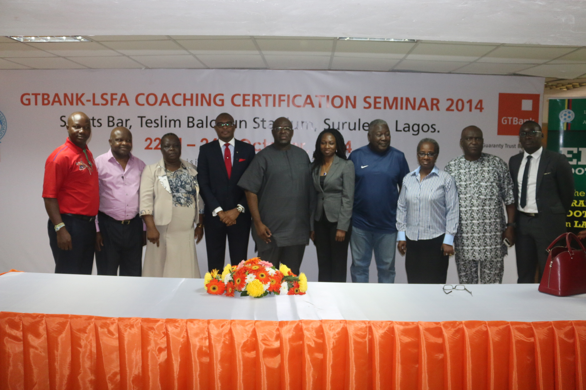 GTBank/LSFA Coaching Certification Seminar